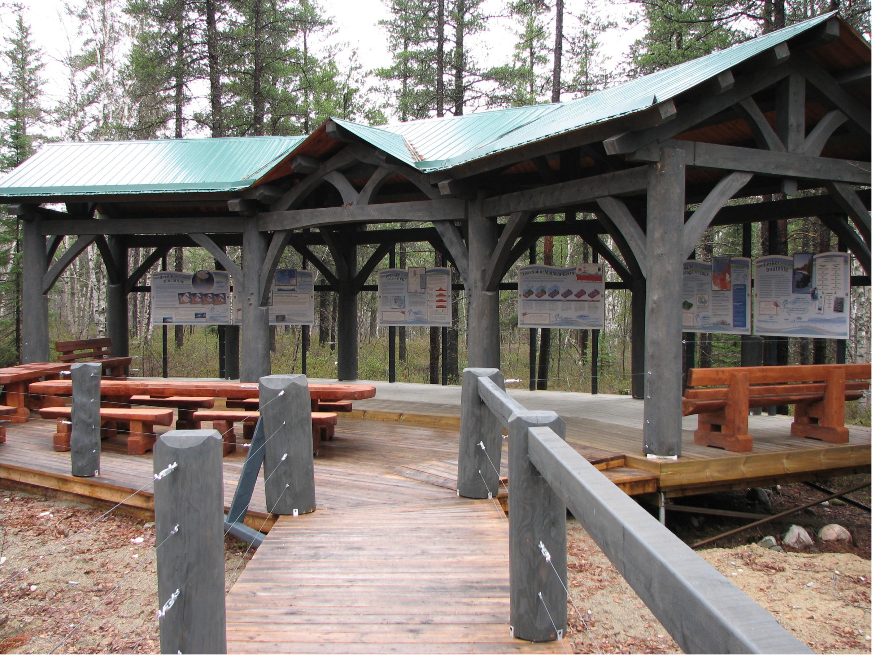 pavillon esker - panneaux
