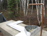 Pavillon esker - prise d'eau